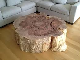 diy tree stump coffee table tree stump coffee table intended for trends matt and jentry home diy tree stump coffee table