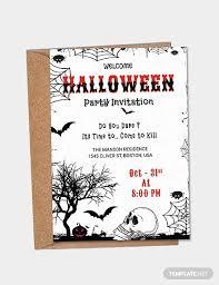 Free Halloween Birthday Invitation Templates Halloween Party Invitation Template Unique Free Printable