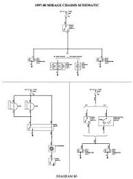wiring diagram for lights on an mirage mitsubishi mirage repair guides wiring diagrams wiring diagrams autozone com
