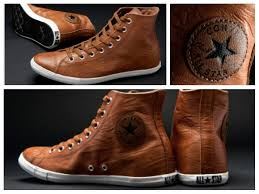 converse chuck taylor all star slim hi tops brown leather slimline sole i need these