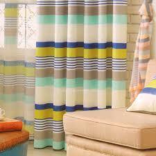 Striped Bedroom Curtains Striped Pattern Multi Color Bedroom Curtains 2016 New Arrival