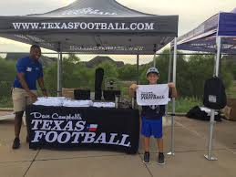 """Ashley Pickle on Twitter: """"The Dave Campbell's Texas Football Road Tour is  in full swing! Stop Number One: @PlanoQBClub vs @HebronFootball and these  fans LOVE them some @dctf rally towels! #txhsfb… https://t.co/deS0UKBNIE"""""""