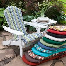 contoured outdoor chair cushions best have c coast adirondack cushion faux leather dining chairs lumbar support