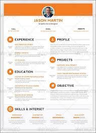 Creative Resume Template Fascinating Free Creative Resume Template PSD Free Creative Resume Template