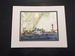 Chart Art Prints Prints Of Coast Guard Units
