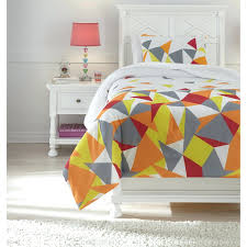 multi colored bedding sets signature design by twin comforter set king