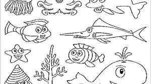 Ocean Coloring Page Ocean G Page Printable Children Sheet Pages Sea