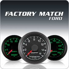 autometer instrumente ford licensed