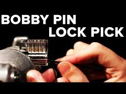 how to pick a lock with bobby pin31 pin