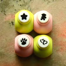 Flower Shaped Paper Punches A Set Of Mini Paper Punch Pick 1 Star Shaped Flower Toy Bear Paw Or Double Hearts