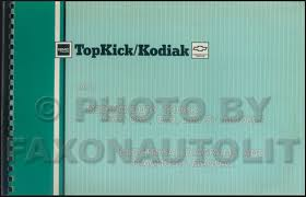 gmc c topkick service manuals shop owner maintenance and 1991 gmc chevy topkick kodiak s7 wiring diagram manual original