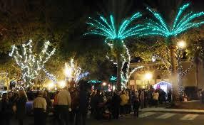 Miami Christmas Lights Tour Christmas On Canal Street New Smyrna Beach Canal Street