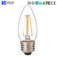 dimmable led filament bulb for chandelier