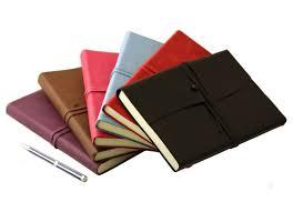 stationery amalfi large leather journal