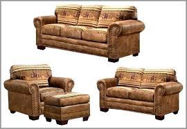 rustic leather living room furniture. Idea Leather Living Room Furniture Sets Or Rustic Wild Horses 4 Piece