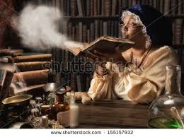 meval alchemist ing dust off the old books in her laboratory