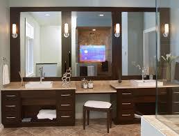 tv mirror bathroom Dream House Pinterest