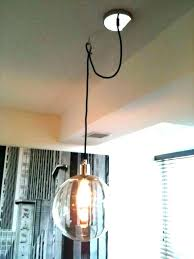 pendant lamps without hard wiring how to install pendant light how to hang pendant lights how