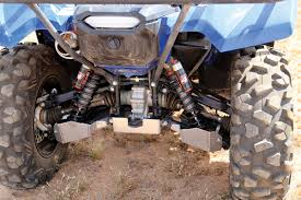 yamaha grizzly. the stage 4 elka suspension we mounted on yamaha gave machine a much more grizzly
