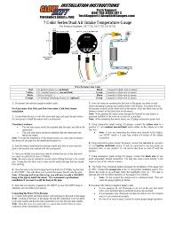 how to install an egt gauge and glowshift gauges wiring diagram egt sensor wiring diagram at Egt Gauge Wiring Diagram