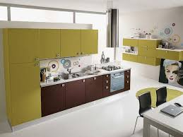 Kitchen Cabinet Wood Veneer Pure Color Kitchen Cabinet Vc Cucine China Kitchen