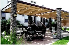 outdoor pillars patio canopy