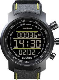 Наручные часы <b>Suunto</b> elementum-terra-n/black/yellow-leather ...