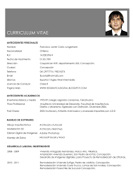 modelo curriculum curriculum elaborado word ofertas de empleo yakaz