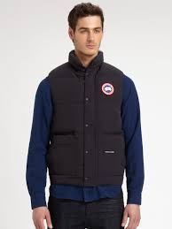Lyst - Canada Goose Freestyle Vest in Blue for Men