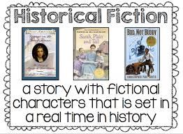 Historical Fiction Anchor Chart Historical Fiction Lessons Tes Teach