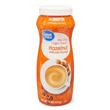 Our top vegan coffee creamer recommendations. Great Value Non Dairy Coffee Creamer Hazelnut 15 Oz Walmart Com Walmart Com