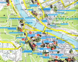 munich map with tourist attractions