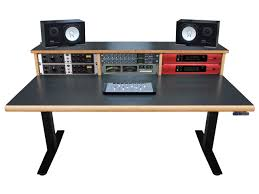 scs elevation workstation 4x3 studio desks sound construction