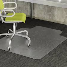 pvc home office chair floor. the pvc ecofriendly material is durable and easy to clean studded back designed achieve a strong gripping without piercing or damaging your carpet pvc home office chair floor r