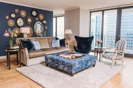 Living Room Chair Cushions Navy Blue Living Room Chair Living Room Design Ideas