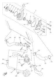 2014 yamaha fz 09 fz09egy water pump parts best oem water pump 2014 fz 09 schematic