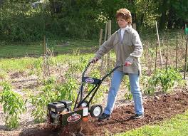 garden weeds how to use a tiller to