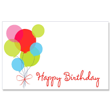 Amazon Com Happy Birthday Balloon Enclosure Cards Gift