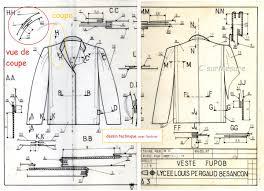 Le Dessin Technique En Fabrication Couture C Sur Mesure