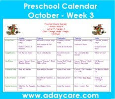 Fall Lesson Plans For Toddlers October Preschool Curriculum Lesson Plans Theme Circle Time
