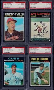 PSA 8 1971 Topps #710 Sonny Siebert Boston Red Sox SET