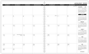 At A Glance Monthly Planner Refill January 2022 December 2022