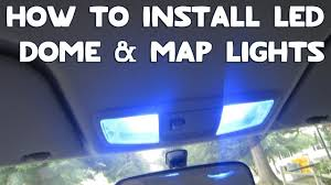 How To Install Lights In Car Interior Car Interior Map Lights Or Dome Lights Or Side Door Courtesy
