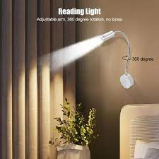 1w flexible led wall lamp adjustable