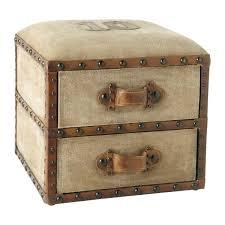 Suitcase With Drawers Pouf A Tiroirs Darlington Compo Salon Base Maisons Du Monde