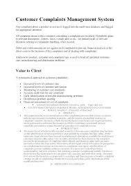 Example Complaint Letter Familycourt Us