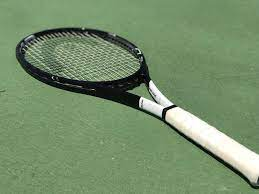 Playing with Novak Djokovic's Racquet ...