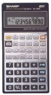 sharp financial calculator. sharp el733a business calculator financial