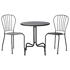lck table 2 chairs outdoor grey ikea
