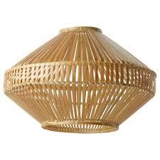 Ikea Jassa Pendant Lamp Shade Each Handmade Natural Fibre Shade